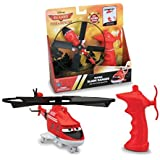 Thinkway Planes Fire and Rescue Blade Ranger Pull Cord Copter, Red/White