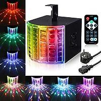 Luz de Efectos, SOLMORE Luz Discoteca LED Lámpara LED para Etapa Iluminación RGB de Efecto para Fiesta Fiesta Bar Cumpleaños DMX 512 LED Controlador
