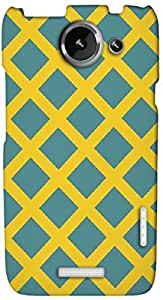 Timpax protective Armor Hard Bumper Back Case Cover. Multicolor printed on 3 Dimensional case with latest & finest graphic design art. Compatible with HTC one X+ ( Plus ) Design No : TDZ-22773