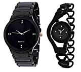 #5: Krupa Enterprise Analogue Black Dial Mens and Womens Watches-55563