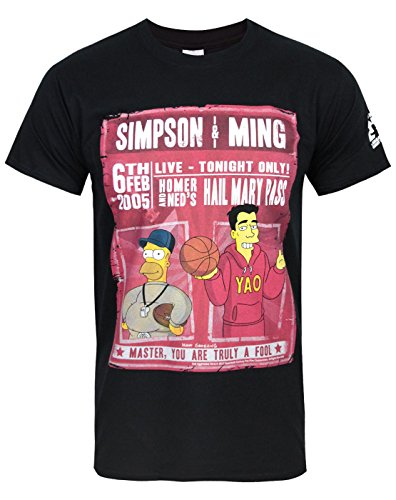 Uomo - Official - The Simpsons - T-Shirt (L)