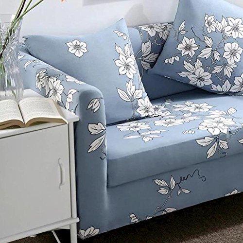 TT&CC Polyester-Spandex gewebe abdeckungen Couch,1 stück Stretch slipcover für Sessel loveseat Sofa ohne Kissen-2 4 Sitzer 235x300cm(93x118inch)