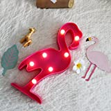 3D LED Shine Flamingo Lamp Night Lamp Marquee LED Letter Nightlight for Home Decoration Birthday Gift for Kids