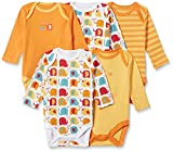 #7: Mothercare Unisex Bodysuit (Pack of 5)(C6251_Red_TINY BABY)