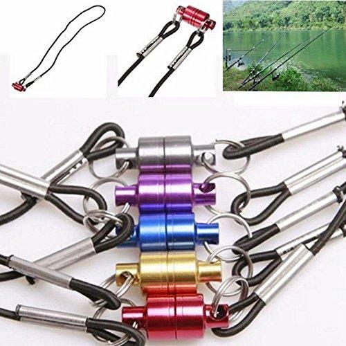 Neue Produkt Starke Ziehen Sie magnetischen Net Gear Release Tool Lanyard Kabel Cord für Fly Fishing Tackle Zubehör Werkzeug (Fishing Tackle Gear)