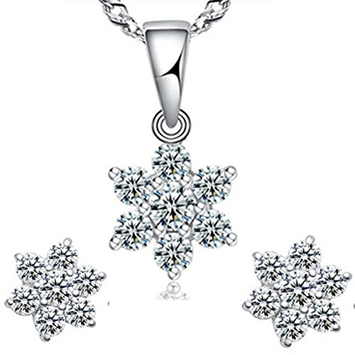 findout-ladies-swarovski-element-sterling-silver-diamond-snowflake-pendant-necklace-earrings-for-wom