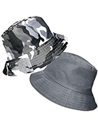 712b4aa76f0 TOSKATOK® Anti UV UPF 50+ Bob été ou Plage Enfants garçons Camouflage 2 en