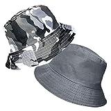 TOSKATOK Anti UV UPF 50+ Bob été ou Plage Enfants garçons Camouflage 2 en 1...