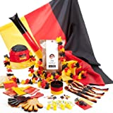 Deutschland WM Fan Set 4 Fans – Exklusiv Paperlabel