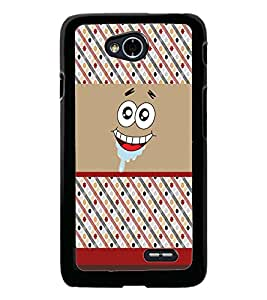 PrintDhaba Cartoon D-5881 Back Case Cover for LG L70 (Multi-Coloured)
