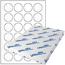 240 Klebepunkte 40 mm leuchtorange Markierungspunkte DIN A4 Bogen Papier