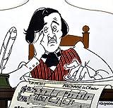 Music Gifts Planche à découper Texte en anglais Chopin Bored