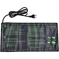 25x52.5cm Cojín de calefacción hidropónico caliente de la estera impermeable del almácigo de para la incubadora de reptil del jardín (18W)