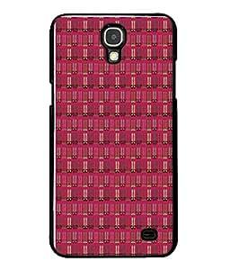 Printvisa Designer Back Case Cover for Samsung Galaxy Mega 2 SM-G750H (Bars Stripes Strips Dots Line Horizontal )