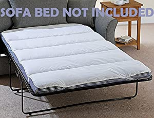 Snugglemore Mattress Topper Bunk Bed / Double Pull Out Sofa Bed Size / Camping Bed Protector