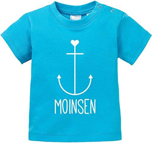 EZYshirt Moinsen | Hamburg | Moin Moin | Anker Baby T-Shirt Bio Baumwolle