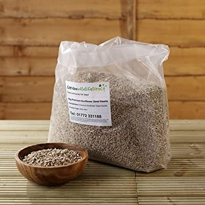 25Kg Premium Sunflower Hearts - Garden Wildlife Direct Wild Bird Food from Garden Wildlife Direct