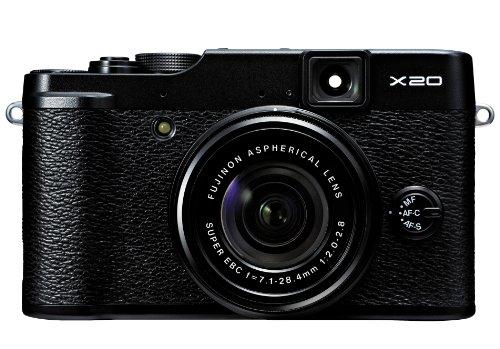 Fujifilm FinePix X20 Mirrorless Camera (Black)