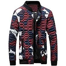 8eb37a1bd79 Bellelove Hommes Automne Mince Manteau d hiver Camouflage Blouse Patchwork  Épaississement Pull Chemise Top Blouse