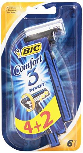 BIC Comfort 3-3Cuchillas desechables-Paquete de 6