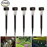 Solarleuchten,Solar-Gartenleuchte KUXIEN 5 Stück LED Solarlampe für den Garten- Aussenleuchten Solar Wegbeleuchtung Wasserdicht Perfekt für Garten, Balkon und Terrasse