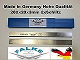 2 St. 260x20x3 Elektra HC260 M k C Hobelmesser Ersatzmesser (alt) Ausführung HSS