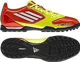 Adidas F5 TRX TF Fußballschuh, higene/wht/electr, Gr.45 1/3 (UK10.5)