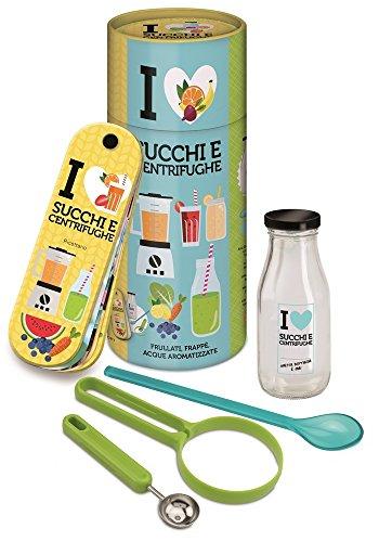 I love succhi e centrifughe. Frullati, frappè, acque aromatizzate. Con gadget