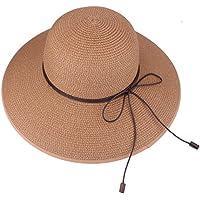 Cappello estivo da spiaggia Cappello da sole Cappello anti-UV da viaggio  Pack Pack UPF fcc592a7720c