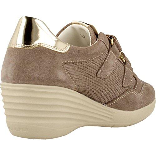 Stonefly Ebony 23, Sneakers Basses Femme Beige