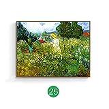 mmwin Van Gogh weltberühmten Gemälde europäischen dekorative Malerei Tusche Gemälde Landschaft Ölgemälde Wohnzimmer amerikanische Wandbild D 70x50cm