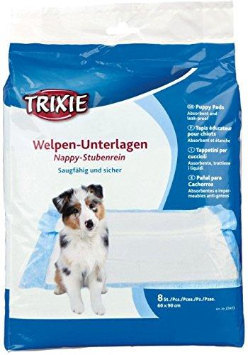 Trixie Welpen-Unterlage Nappy-Stubenrein, 60 x 90 cm, 8 Stück