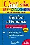 Objectif Bac - Fiches détachables - Gestion et finance - Terminale STMG
