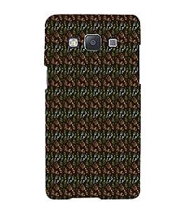 Fiobs Multicolor Foot Design Designer Back Case Cover For Samsung Galaxy A3