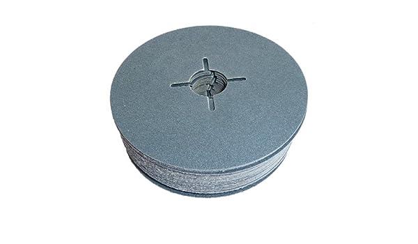 RauhcoFlex Sanding Disc 115mm x 22.23mm Zirconium 60 Grit Pack of 25