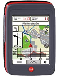 Falk IBEX Outdoor-Navigationsgerät Limited Edition, schwarz/rot, 1674790000