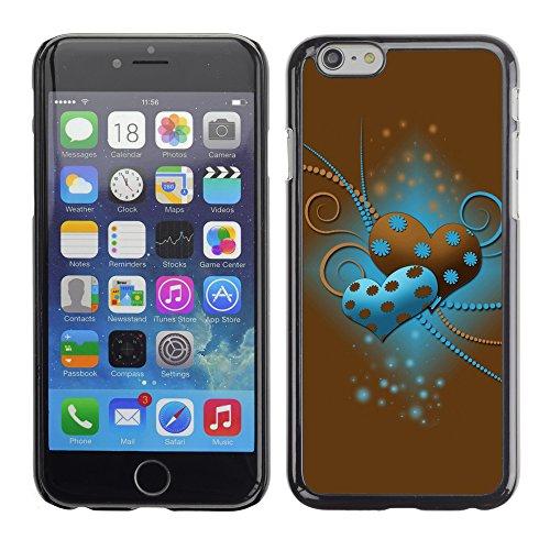 Graphic4You Love Trap Design Harte Hülle Case Tasche Schutzhülle für Apple iPhone 6 / 6S Design #15
