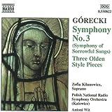Sinfonie 3/3 Stücke im Alten Stil