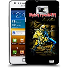 Official Iron Maiden Piece Of Mind Album Covers Hard Back Case for Samsung Galaxy S2 II I9100