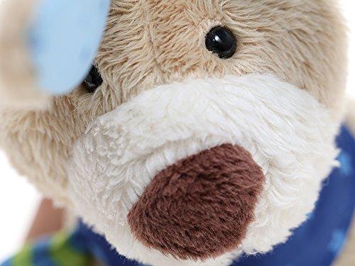 sigikid, Mädchen und Jungen, Spieluhr, Stofftier Hase, Blau/Grün, 40356 - 7