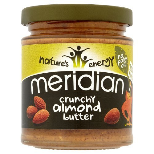 (10 PACK) - Meridian - 100% Crunchy Almond Butter | 170g | 10 PACK BUNDLE