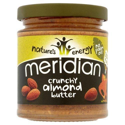 (10 PACK) - Meridian - 100% Crunchy Almond Butter | 170g | 10 PACK BUNDLE
