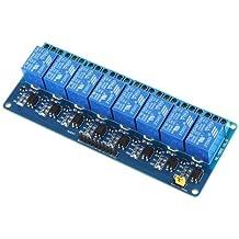 Kkmoon 8-CH - Placa del módulo de relé de 8 canales (5V)