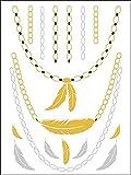Metallic Gold Silver Black Jewelry Inspi...