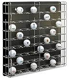 SORA vitrine de balle de golf acrylique, avec panneau arrière noir