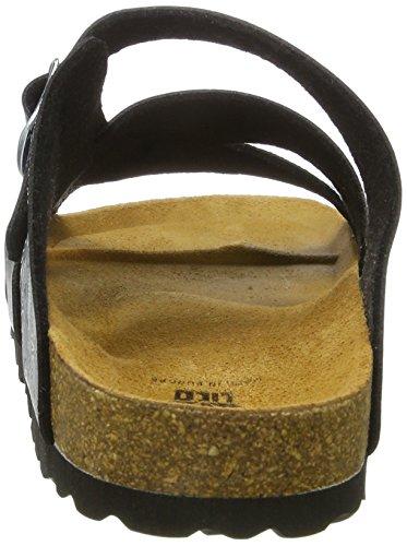 Flora Grigio Bassi Pantofole antracite Lico Bioline Donna Silber aq5WUwp