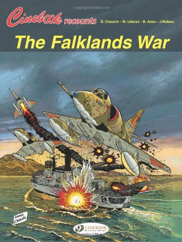 Cinebook recounts - tome 2 The Falklands war (02)