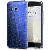 Funda HTC U11, Carcasa Spigen® [Liquid Crystal] Protección delgada y Claridad premium para HTC U11 [Glitter Crystal Quartz]
