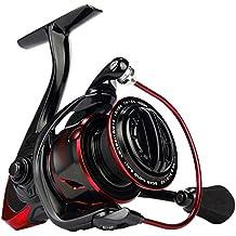 Nuevo. KastKing carrete de Pontus cebo alimentador para vivir y forro de pesca 9 + 1 rodamientos de bolas hasta 26,5 kg/12 kg arrastre. (Black with Blue, Pontus5000)