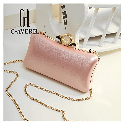 G-AVERIL, Borsa a zainetto donna nero Black Pink